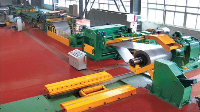 Yawei Stop Cutting Line Machine