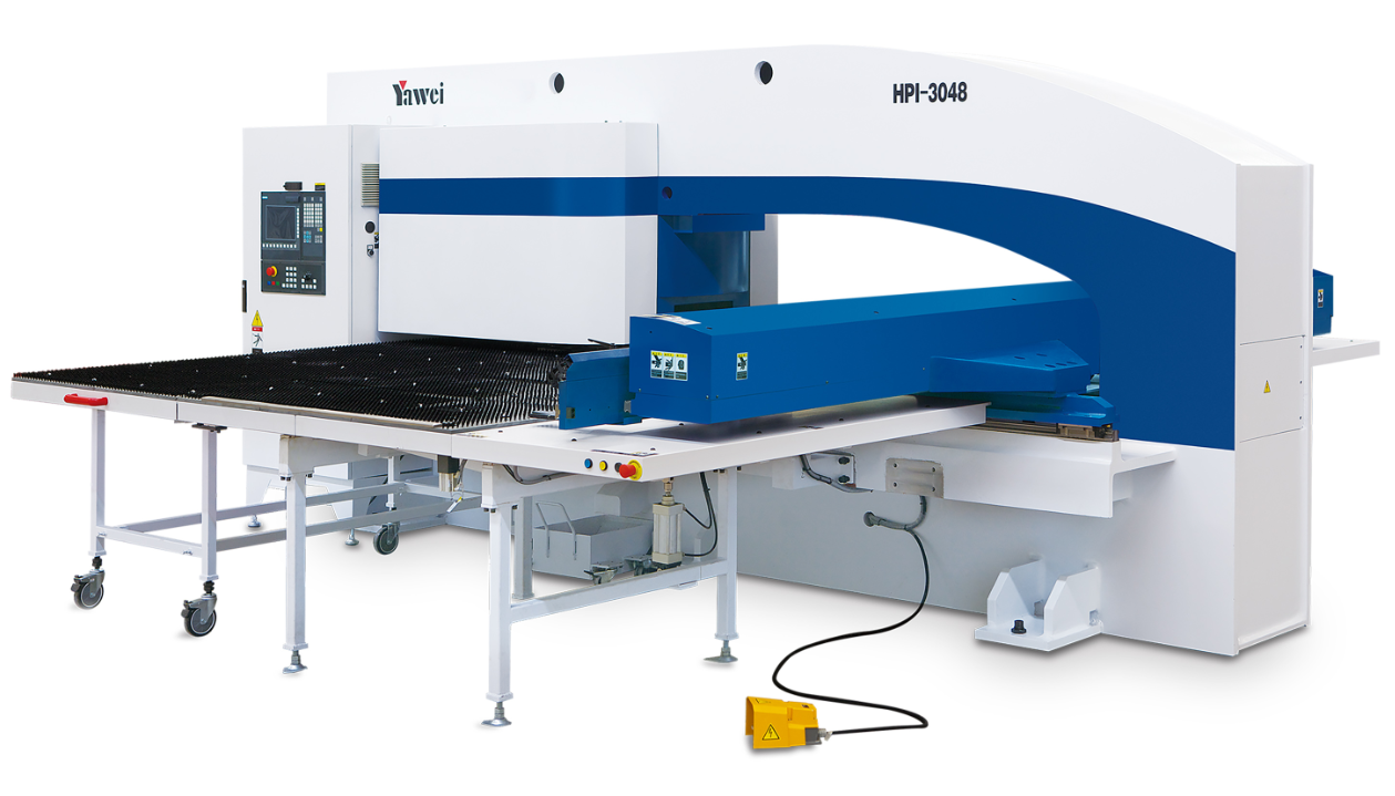 Yawei Universal High-efficiency CNC Mechanical Servo Turret Punching Machines