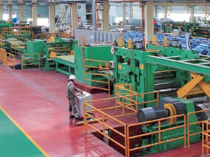 Yawei Hot rolled cross-cutting line