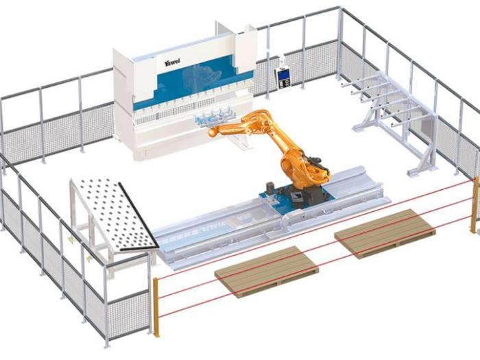 Yawei PB-FMC Series Robotic Bending Cells