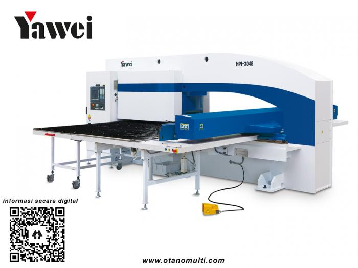 Yawei High-speed CNC turret punching machines with advanced technology