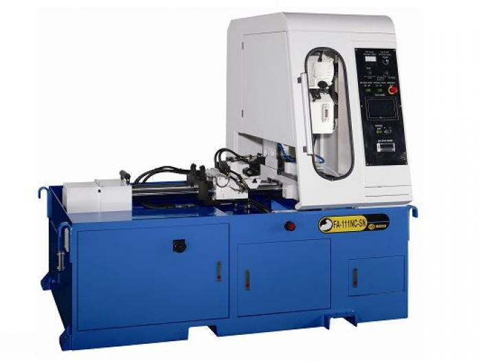 Soco's Steel Tube Cutting OD 127mm + NC Servo Feeding with Touchscreen Panel