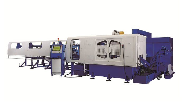 Soco's Machine 4 Processes in 1 Tube Cutting Machine