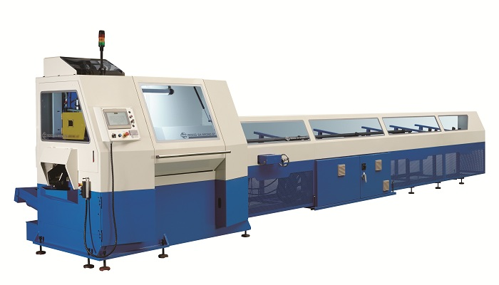 Soco's Dual Tubes Cutting Machine SA-80CNC-ST