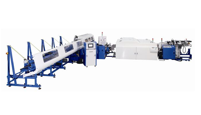 SOCO's High Tensile Steel Tube Cutting Automation Cells (Chamfering)