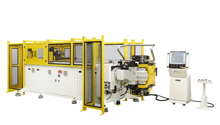 Soco's All Electric Tube Bender , Left and Right Pipe Bending Technology